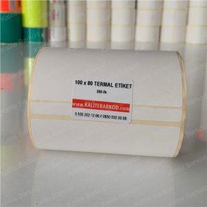 100 x 80 termal etiket