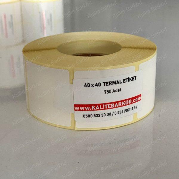 40 x 40 Termal Etiket 40 x 40 termal barkod etiket 1 600x600