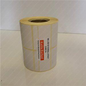 termal etiket Termal Etiket Nedir, Termal Etiket Özellikleri 50 x 25 termal barkod etiket 1 300x300