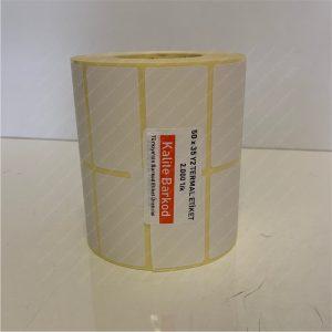 termal etiket Termal Etiket Nedir, Termal Etiket Özellikleri 50 x 35 yanyana2 termal barkod etiket 300x300