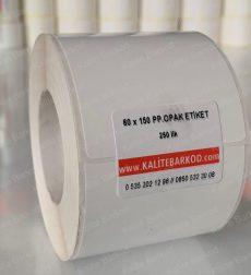 60x150 plastik pp opak barkod etiket termal etiket Home 2 60 x 150 pp