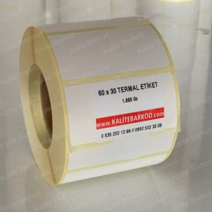 30x60 termal etiket
