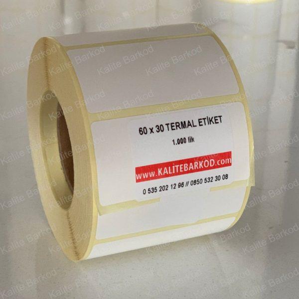 60 x 30 Termal Etiket 60 x 30 termal barkod etiket 1 600x600