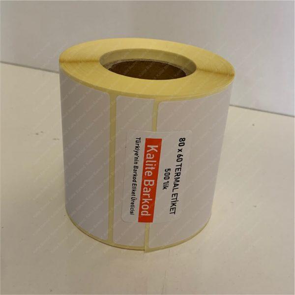 80x60 termal etiket