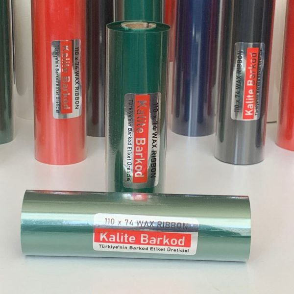 Yeşil wax Ribon yeşil ribon Yeşil Wax Ribon 110 mm x 74 m Ye il Ribon 600x600