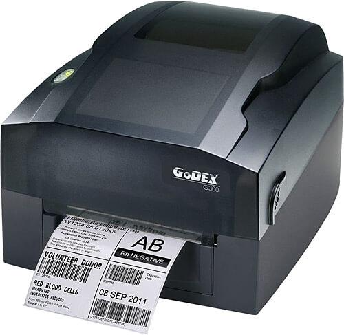 Godex G-300 Barkod Yazıcı godex g 300 barkod yazici