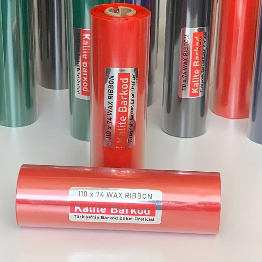 kırmızı wax ribon termal etiket Home 2 k  rm  z   ribon