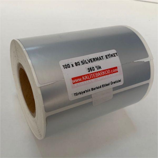 demirbaş etiketi silvermat etiket 100 x 80 Silvermat Etiket 100x80 silvermat metalize etiket 600x600